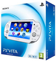 PS Vita (1008) Wi-Fi/3G White