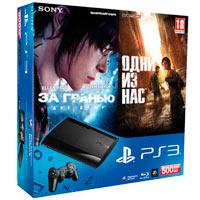 PlayStation 3 (500G) Super Slim + Игры За гранью: Две души + Одни из Нас