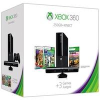 XBox 360E 250G (Slim) + Kinect + Sports 2 + Forza Horizon