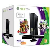 XBox 360 4G (Slim) + Kinect + Игра Sports 2 + Карта подписки 1 месяц