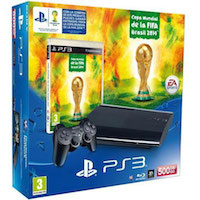 PlayStation 3 (500G) Super Slim + Игра 2014 FIFA World Cup Brazil