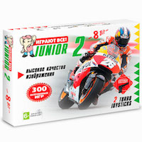 Консоль 8 бит Junior 2 300-в-1
