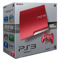 PlayStation 3 (320G) + Controller Red