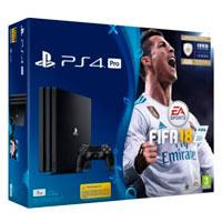 PlayStation 4 PRO (1Tb) + Игра Fifa 18