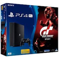 PlayStation 4 PRO (1Tb) + Игра Gran Turismo Sport