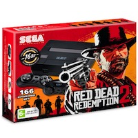 Sega Super Drive RED DEAD 2 (166-in-1)