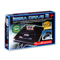Sega Super Drive 2 (132-in-1) Black