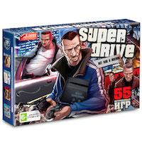 Sega Super Drive GTA (55-в-1)
