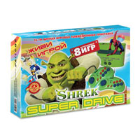 Sega Super Drive Shrek (8-in-1)