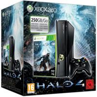XBox 360 250G (Slim) + Игра Halo 4