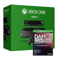 XBox One 500G + Kinect2 + Игра Dance Central Spotlight