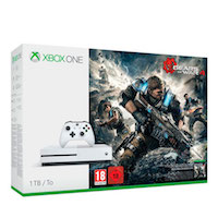 Xbox One S 1TB + Игра Gears of War 4