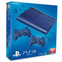 PlayStation 3 (500G) Super Slim + Controller Blue