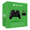 XBox One Controller Black Wireless + Play & Charge Kit Black