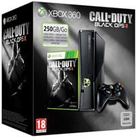 XBox 360 250G (Slim) + Игра Call of Duty: Black Ops 2