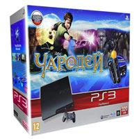 PlayStation 3 (320G) + Игра Чародей + Starter Pack