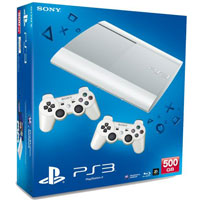 PlayStation 3 (500G) Super Slim + Controller White