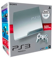 PlayStation 3 (320G) + Controller Siver
