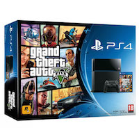 PlayStation 4 (500G) + Grand Theft Auto 5 (GTA5)