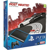 PlayStation 3 (500G) Super Slim + Игра Need for Speed Most Wanted