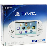 PS Vita Slim (2006) Wi-Fi Light Blue-White