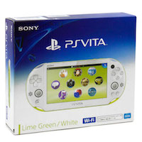PS Vita Slim (2006) Wi-Fi Green-White