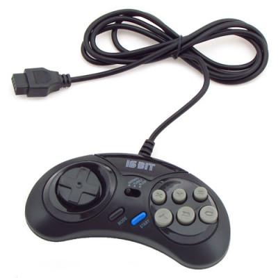 Sega Controller Turbo (1. 5 М) Black