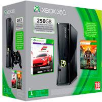 XBox 360 250G (Slim) + Игры Forza 4 + Ведьмак 2
