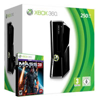 XBox 360 250G (Slim) + Игра Mass Effect 3