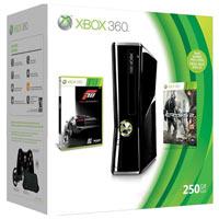 XBox 360 250G (Slim) + Игры Crisys2 +  Forza 3 + 3М Live Gold