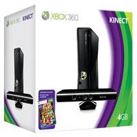 XBox 360 4G (Slim) + Kinect