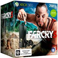 XBox 360 250G (Slim) + Игры Forza 4 + Ведьмак 2 + Far Cry 3
