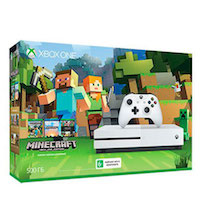 Xbox One S 500G + Игра Minecraft