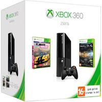 XBox 360E 250G (Slim) + Forza Horizon + Halo 4 GOTY