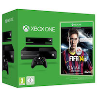 XBox One 500G + Kinect2 + Игра Fifa 14
