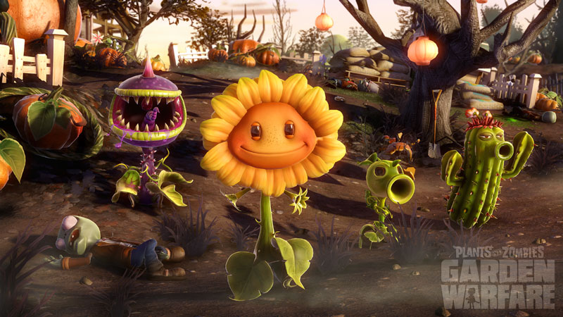 Plants Zombies Garden Warfare 2